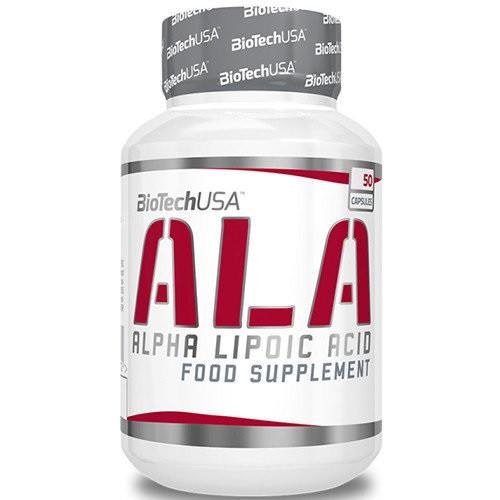 Альфа-липоевая кислота BioTech ALA (50 капс)