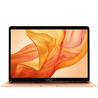 13-inch MacBook Air, Model A1932: 1.6GHz dual-core 8th-generation Intel Core i5 processor, 128GB - Gold (MVFM2UA/A)