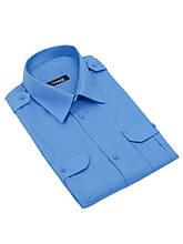 "Рубашка форменная с коротким рукавом на поясе ""Standart"" CODIRISE™, синяя"