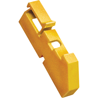 Изолятор DIN желтый (120 штук)