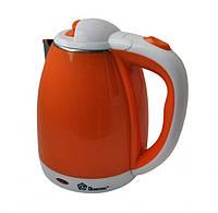 Оранжевий електричний чайник DOMOTEC MS-5022 Orang 1500 Вт