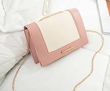 Модная сумочка клатч на цепочке, фото 3