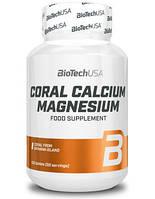 Минеральный комплекс из природного кораллового кальция и магния BioTech Coral Calcium - Magnesium (100 таб)