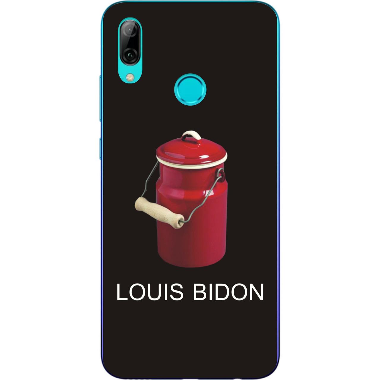 Антибрендовый силіконовий чохол для Xiaomi Mi Play з картинкою Louis Bidon