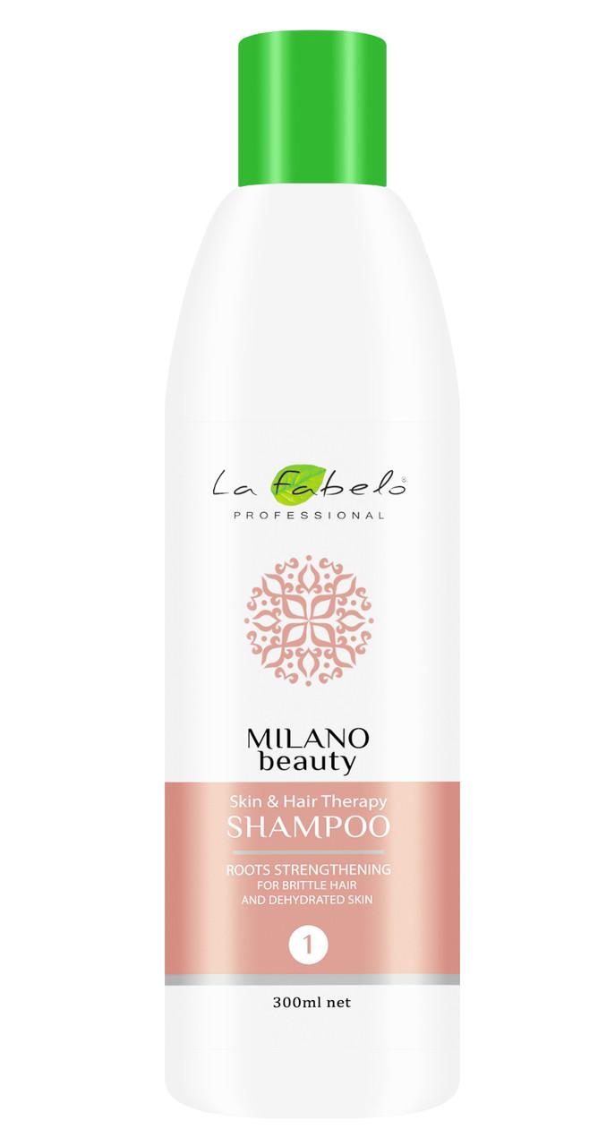 Шампунь восстанавливающий La Fabelo MB Skin&Hair Therapy для ломких волос 300мл