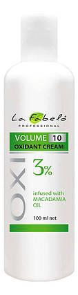 Крем оксидант La Fabelo с маслом макадамии 10 VOL 3% 100мл, фото 2