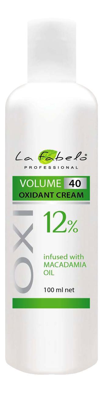 Крем оксидант La Fabelo с маслом макадамии 40 VOL 12% 100мл