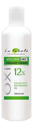 Крем оксидант La Fabelo с маслом макадамии 40 VOL 12% 100мл, фото 2