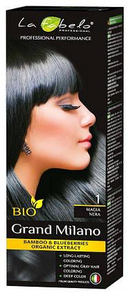 Крем-краска для волос био 100мл тон 1 La Fabelo Professional, фото 2