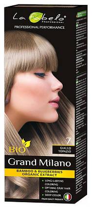 Крем-краска для волос био 100мл тон 7 La Fabelo Professional, фото 2