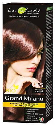 Крем-краска для волос био 100мл тон 4.5 La Fabelo Professional, фото 2