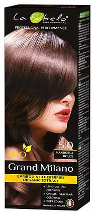 Крем-краска для волос био 100мл тон 5.0 La Fabelo Professional, фото 2