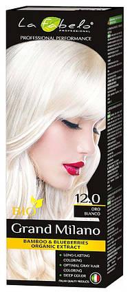 Крем-краска для волос био 100мл тон 12.0 La Fabelo Professional, фото 2