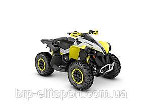 Renegade X XC 650 Black, Gray & Sunburst Yellow