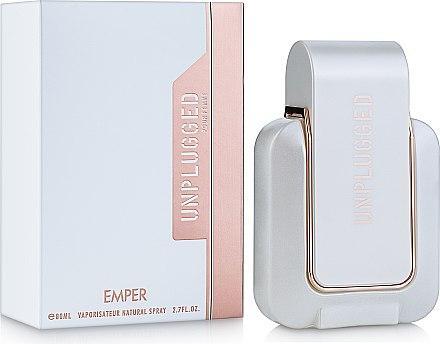 Женская парфюмированная вода Unplugged 80ml. Emper (100% ORIGINAL)
