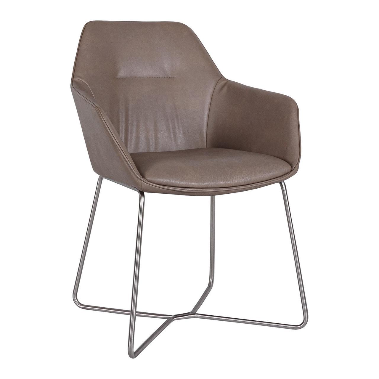 Кресло Laredo (Ларедо) мокко от Niсolas, кожзам