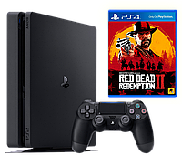 PlayStation 4 Slim 1TB Bundle Red Dead Redemption 2