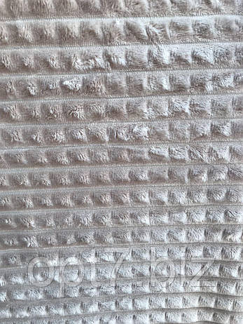 Плед-покрывало микрофибра пирамидки 200*220 см (от 5 шт), фото 2