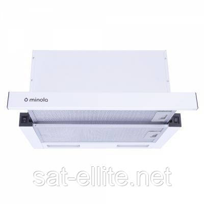 Вытяжка кухонная MINOLA HTL 6615 WH 1000 LED