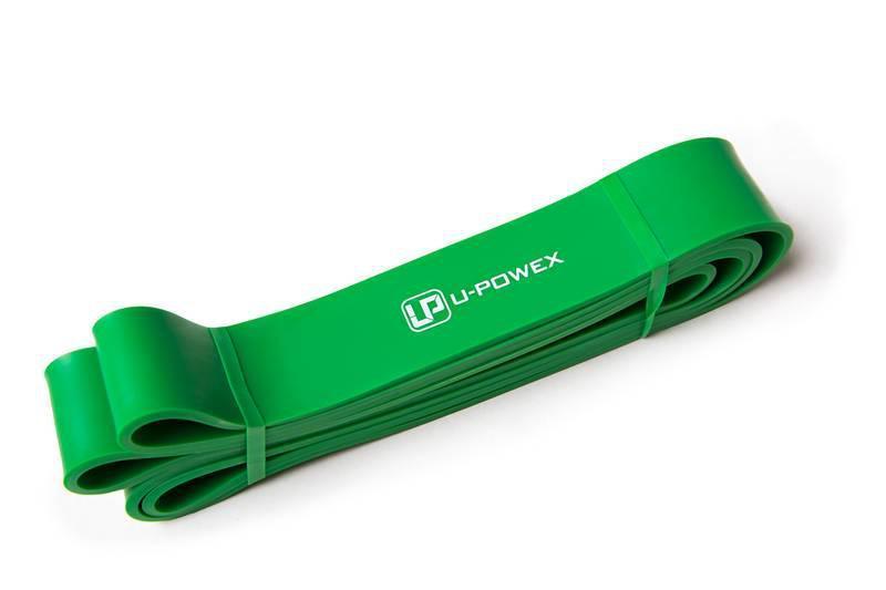 Резинка для подтягивания (резинка для фитнеса) Power Band. Резиновые петли. Жгут. Зеленая 44мм - 23-63кг