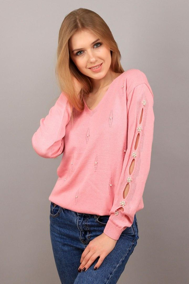 Джемпер Marta розовая пудра (Код AL-ald00445)