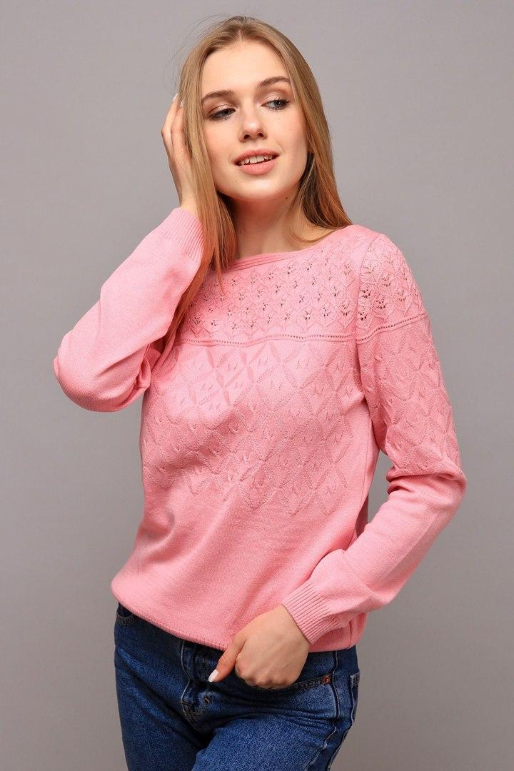 Джемпер Моника розовая пудра (Код AL-ald00408)