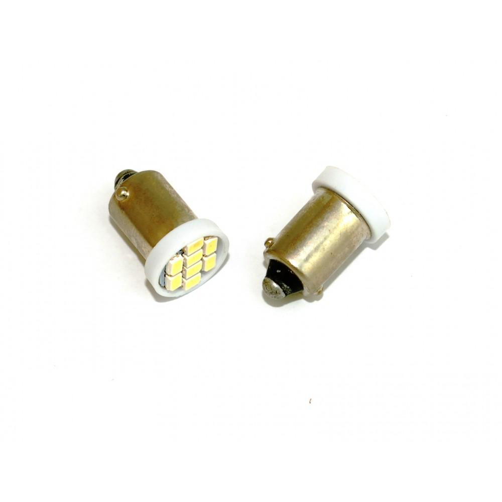 LED лампы Baxster T4W (BA9S) 8 SMD 56Lm (2шт)