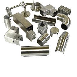 Поручні з нержавіючої сталі і комплектуючі