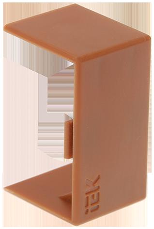 Соединитель на стык 15х10 КМС дуб
