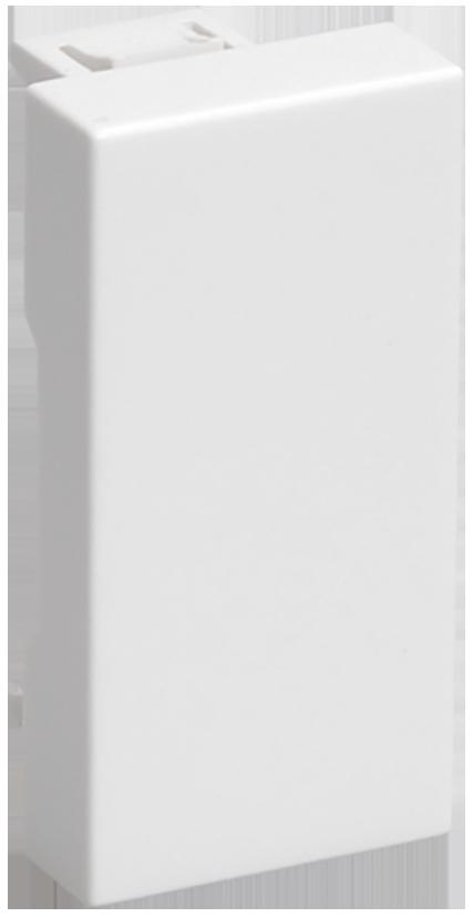 ЗК-00-01-П Заглушка на 1 модуль белая IEK