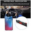 Автомобильный Аудио MP3-плеер FM, Bluetooth, AUX, USB, SD модуль питание от 5В до 12В с Пультом, фото 9