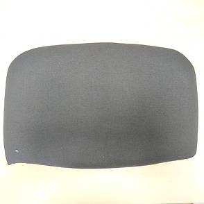 Спинка для стула ИЗО (мягкая часть, без пластика) Цвет черный (А-01), фото 2