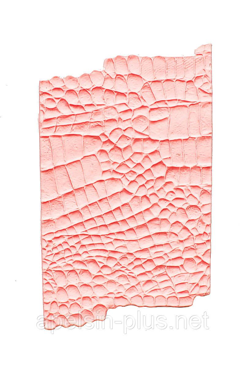 """Молд силиконовый для декора """"Кожа текстура"""" 17 см 10,5см"""