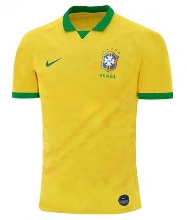 Футбольная форма национальной сборной Бразилия желтый сезон 2019