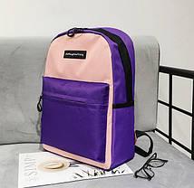 Популярные цветные тканевый рюкзаки для школы, фото 3