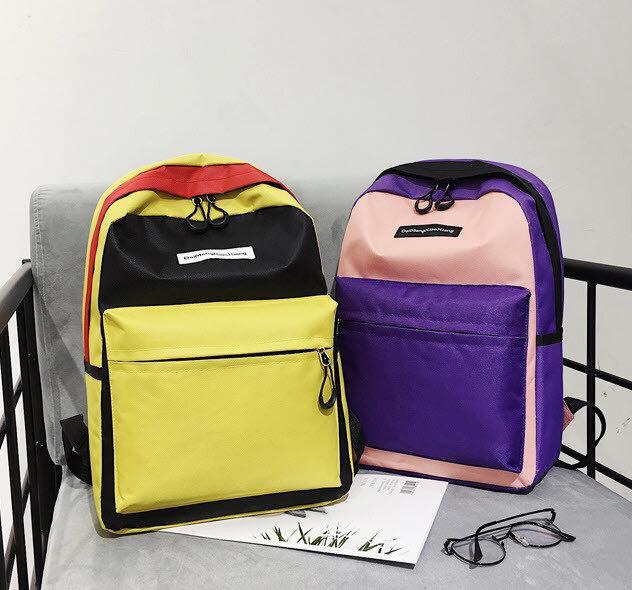 Популярные цветные тканевый рюкзаки для школы