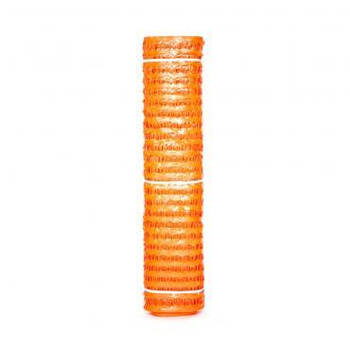 Сетка пластиковая Аварийная оградительная 80*35/1*50м (цвет оранжевый)