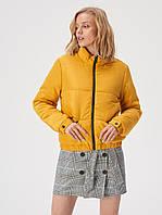 Короткая курточка яркого желтого цвета TM Sinsay