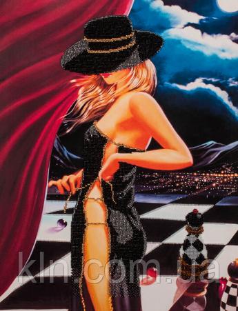 Набор для вышивания бисером FLF-079 Шахматная партия - 2 35*45 Волшебная страна качественный