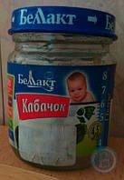 Овощное пюре Беллакт из Кабачка 100 г, 0027