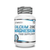 Минеральный комплекс для суставов BioTech Calcium Zinc Magnesium (100 таб)