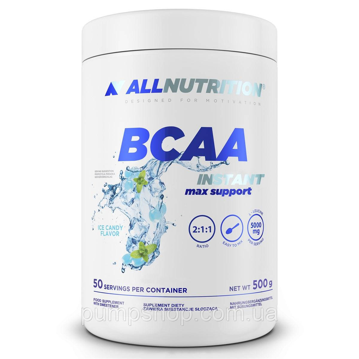 Бцаа инстант AllNutrition BCAA Instant max support 500 г
