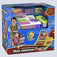"""JT Набор для детской игры """"Мой магазин"""" 7562 B (8/2) подсветка, звук, на батарейках, в коробке"""