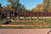 Арочная Теплица Основа Усиленная Nk Plast (300х1000х200 см) Каркас Под Сотовый Поликарбонат и Пленку, фото 1