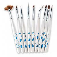 Набор кистей для рисования Yre Nail Art Brush, 9 шт., фото 1