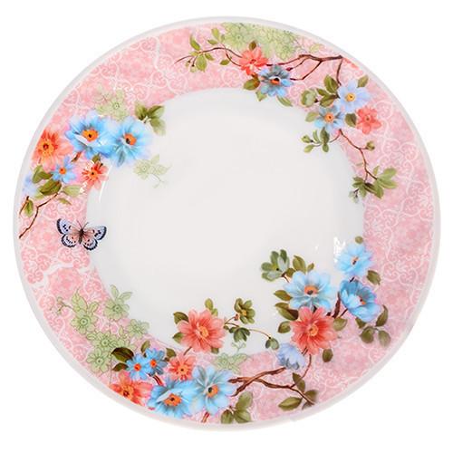 "Набор тарелок 6шт стеклокерамика 7"" (17.8см) 6шт/наб ""Весна""   MS-2067-5086"