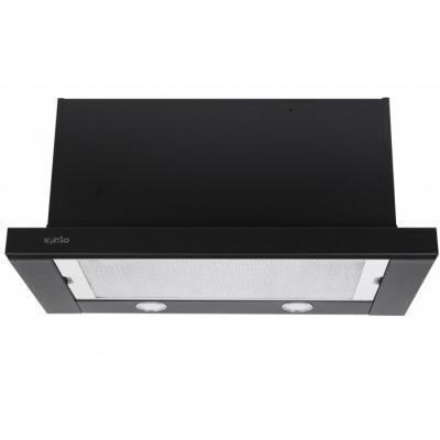 Вытяжка кухонная VENTOLUX GARDA 60 BK (1100) SMD LED