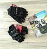 Кожаные мото перчатки Icon Pursuitне перфорированные, фото 4