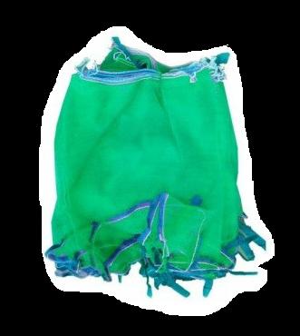 Овощная сетка с мелкой ячейкой зелёная (капрон)
