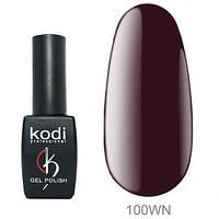 Гель-лак Kodi Professional №100 WN 8 мл Бордовий